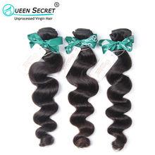 Eurasian Virgin Hair Loose Wave 2Bundles 6A Human Hair Bundles Weave Cheap 100% Unprocessed Virgin Eurasian Loose Wave Hair