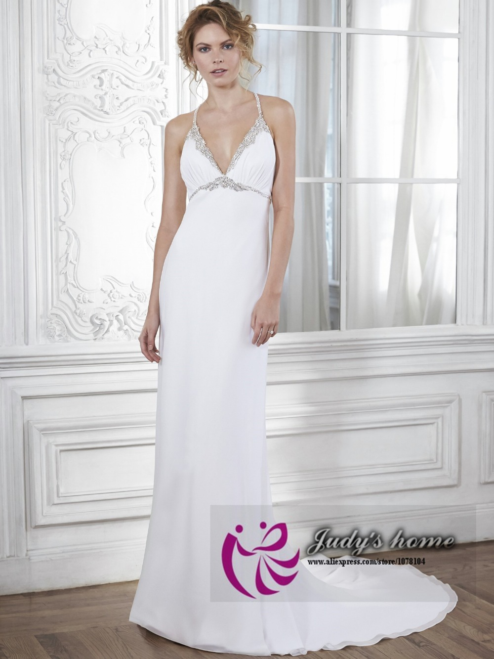 Casual Cheap Wedding Dresses