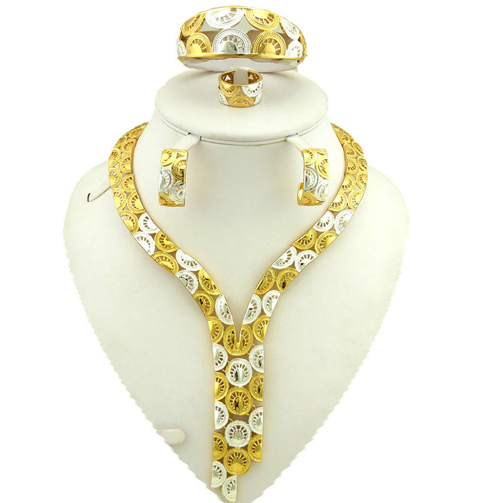 african jewelry sets real gold plating jewelry sets fine ...