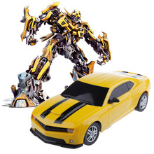 2014 New GIFT Child Electric toy RC Cars Bumblebee Remote Control Charge Car toys High Speed Remote Control Car Automobile model(China (Mainland))