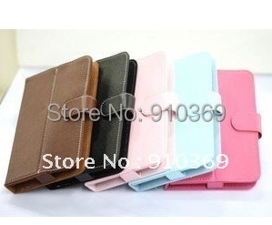 Leather case for 10 inch SANEI N10 Zenithink C91/C92 Cube u30gt V10/FLYTOUCH3 TABLET PC Free Shipping