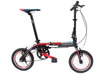 """Fast Shipping hot selling 14"""" Quickly folding bike/1' second folded bicycle/foldable bike for health building & entertainment(China (Mainland))"""