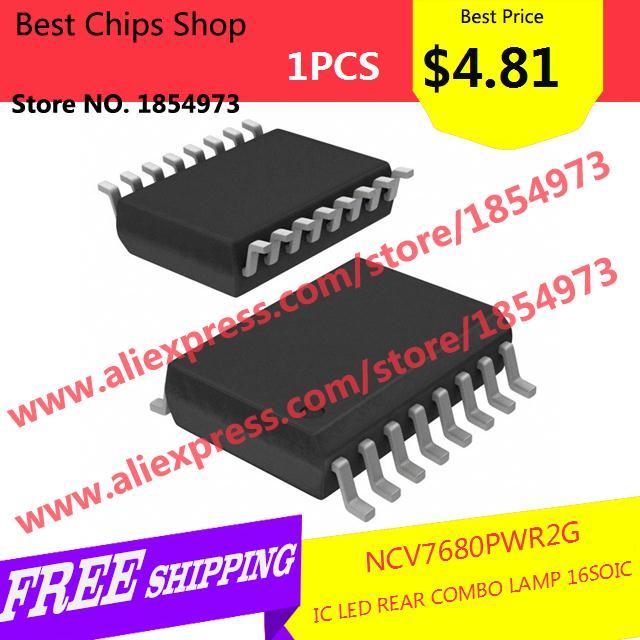 Free Shipping 1PCS=$4.81 Integrated Circuit NCV7680PWR2G IC LED REAR COMBO LAMP 16SOIC 7680 NCV7680(China (Mainland))
