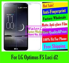 Buy LG Optimus F5 Luci d2 LCD film case Matte Anti-glare mobile protective film phone screen protector de pantalla projector for $1.33 in AliExpress store
