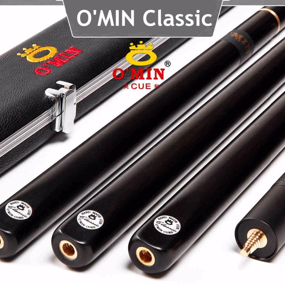 Original OMIN Classic billiard pool cue,cue tips 10mm,ash wood,3/4 snooker cues stick russian billiards sticks Professional rod(China (Mainland))