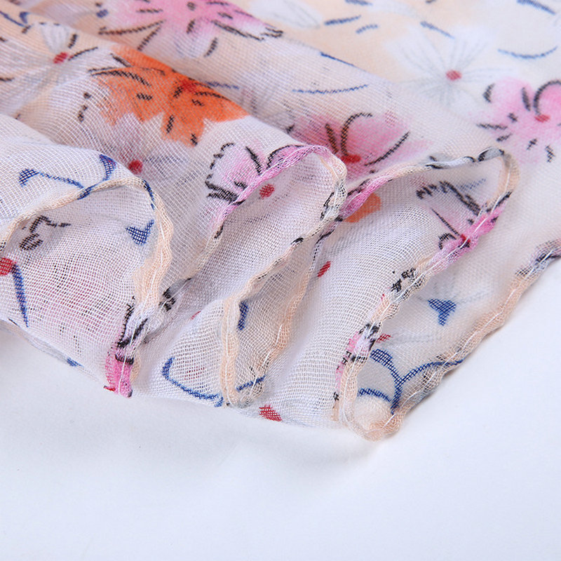 floral printed scarfs and shawl 2017latest spring winter scarf women scarf luxury brand flower wrap and cape YOUNGER STORE YG031