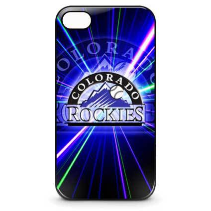 Colorado Rockies Baseball Phones Cover Case for Apple iPhone 4 and 4s (mixed order batch)(China (Mainland))