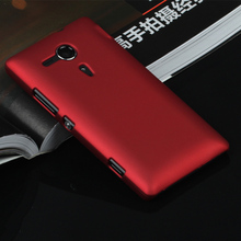 Luxury Rubber Matte Hard Case For Sony Xperia Z1 Z2 Z3 Z4 Z5 Compact Premium M2 M4 Aqua M5 SP M35h E4 E4G C3 C4 C5 T2 T3 C1905(China (Mainland))