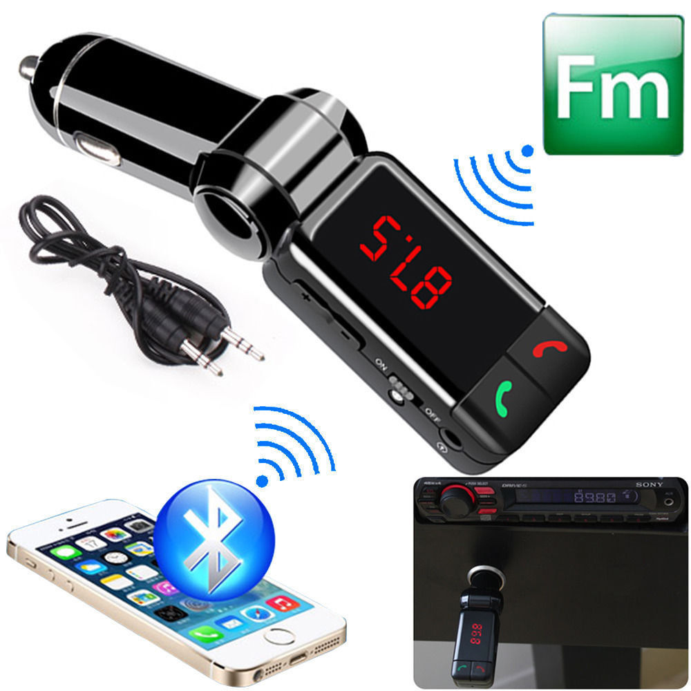 bluetooth car kit mp3 player wireless hands free usb. Black Bedroom Furniture Sets. Home Design Ideas