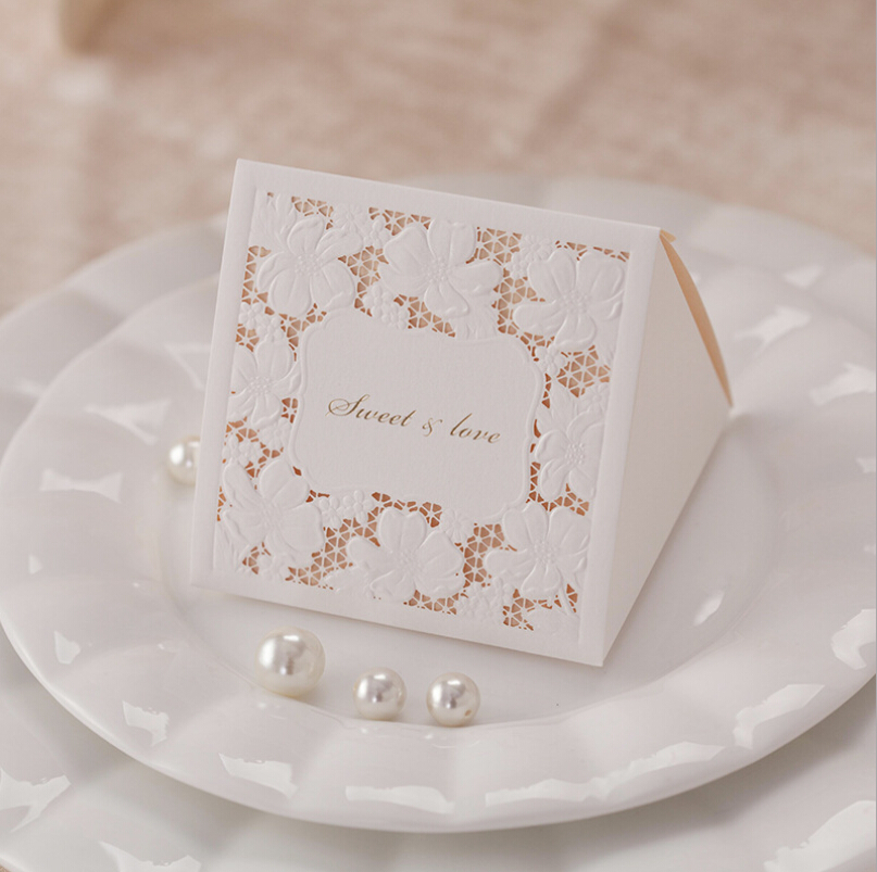 Wedding Favor Boxes For Candy : Cut Wedding Favor Boxes Wedding Candy Box Casamento Wedding Favors ...