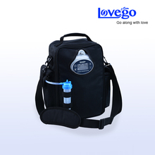 Lovego Newest portable oxygen concentrator LG102 meet all patients requirements of 1 to 5 liters oxygen supplement