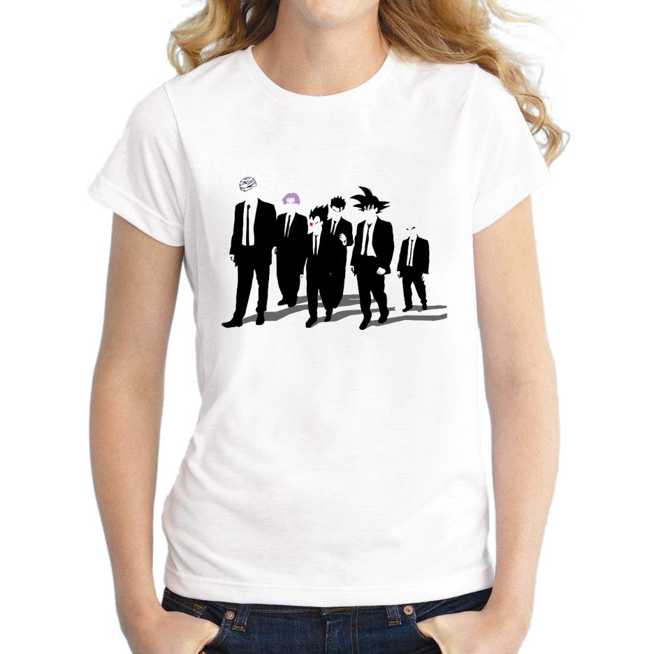 2015 newest women saiyan design t shirt novelty dragon Custom printed women s t shirts