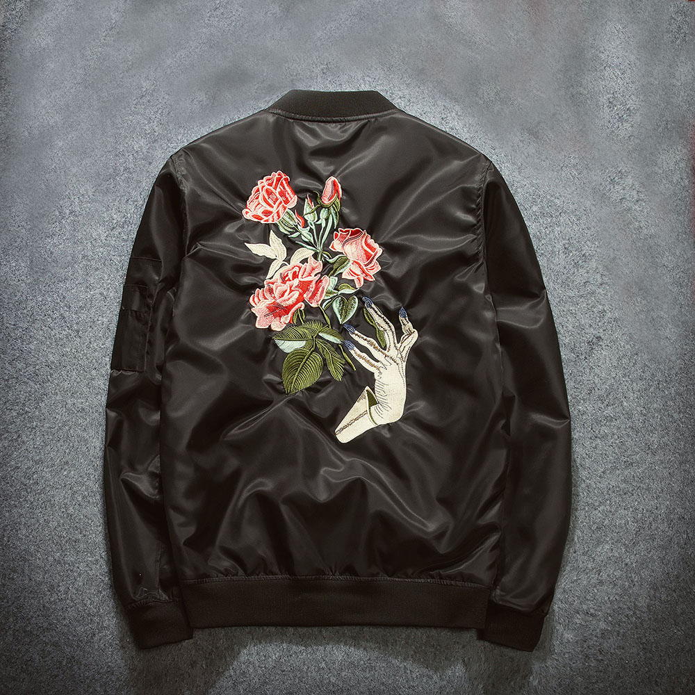 2016 New Spring Women Baseball Coat Embroidery Short Jacket Veste Femme Female Bomber Jackets Casual PU Patchwork Outwear ZJ200