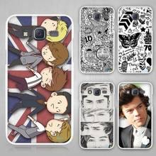 One Direction band Hard White Case Cover Samsung Galaxy J1 J2 J3 J5 J7 C5 C7 C9 E5 E7 2016 - Madivan store
