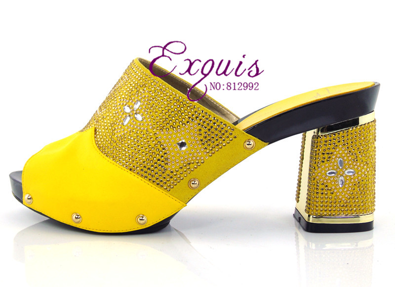 Free shipping! Cork material slippers Italian design  shoes of african lady CT1602 yellow<br><br>Aliexpress