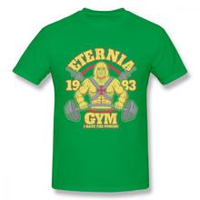 HE-Man T Shirt untuk Pria Eternia Gym Masters Of The Universe T-shirt Baru T-shirt 3D Cetak Keren T Shirt Populer(China)