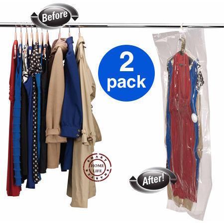 2 packs with free shipping | 90x60, 110x60, 105x70, 145x70 | Vacuum bag with hanger | hanging storage bag | space saving bag(China (Mainland))