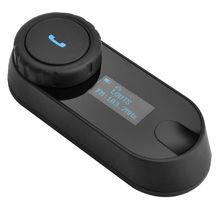 Free Shipping!TCOM-SC W/Screen Bluetooth Motorcycle Motorbike Helmet 800M Intercom Headset