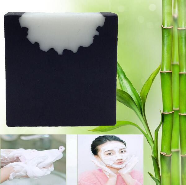 50g DBC brand Blackhead Remover Carbon Handmade Bamboo Charcoal Soap Oil Control Skin Moisturize Anti Acne(China (Mainland))