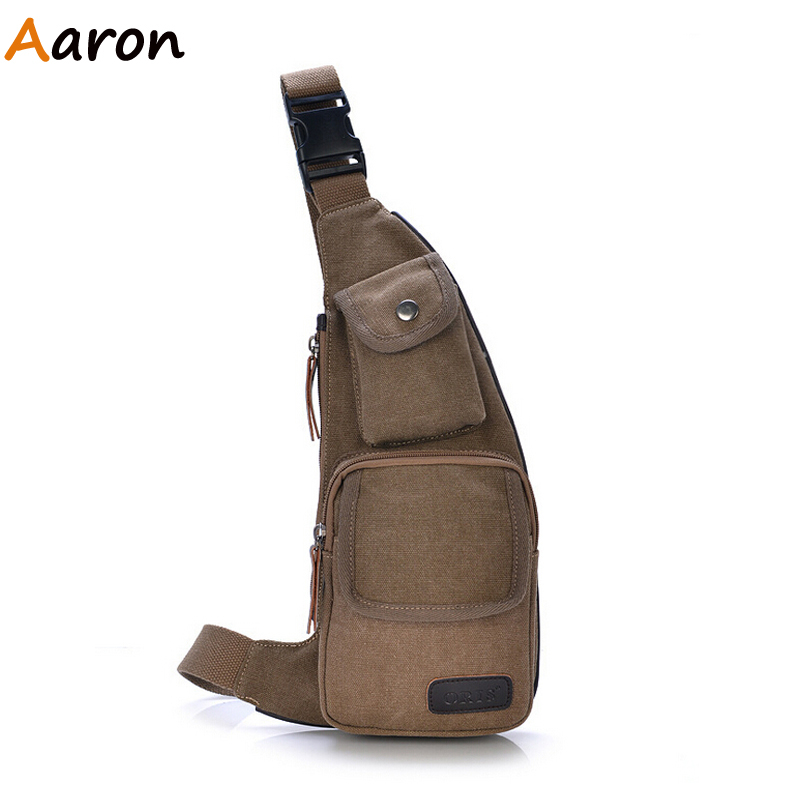 Aaron - bolsa masculina 2015 New Tactical Equipment Men Canvas Waist bag Outdoor Sport travel Mini Chest Bag Bicycle Fanny Pack<br><br>Aliexpress