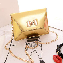 4Colors New Bow Women Handbag Women Brand Clutch Evening Bags Jelly Bag Messenger Bag High Quality Import Leather Wholesale(China (Mainland))