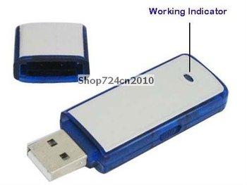 New 2in1 4GB Digital Voice Recorder+USB Flash Memory Stick Drive