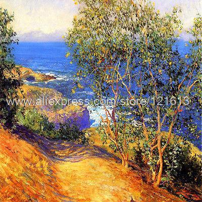 Rose Guy Orlando Indian Tobacco Trees La Jolla On Canvas Art Canvas Painting Large Wall Pictures Impression Children'S(China (Mainland))