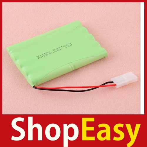 [ShopEasy] Practical New AA 12V 1800MAH Ni-MH Rechargable Battery Pack #1 Save up to 50%(China (Mainland))
