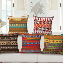 African pattern pillow cover