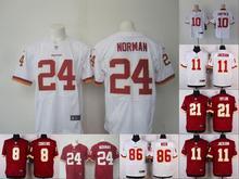 A+++ all stitched Washington Redskins #Kirk Cousins,DeSean Jackson,Jordan Reed,,Alfred Morris,Sean Taylor,#24 Josh Norman(China (Mainland))