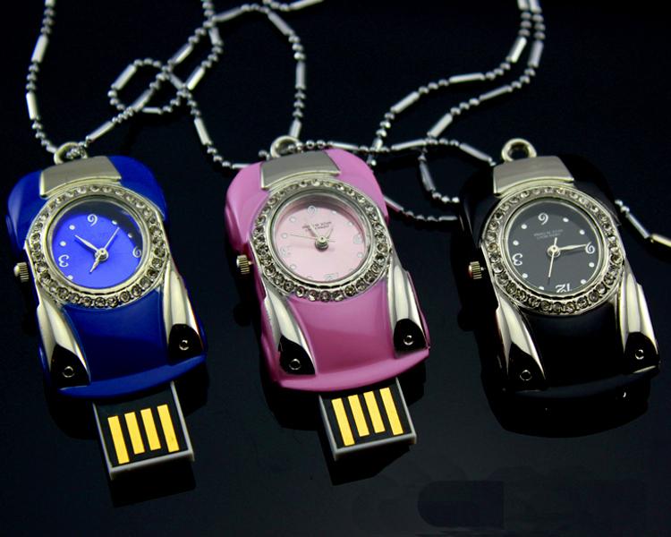 5 Style U Disk Jewel Pocket Watch pendrive 4GB 8GB 16GB 32GB Usb flash drive free shipping(China (Mainland))
