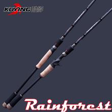 46T hight Carton  Rainforest cork handle 1.8m / 1.9m / 2.28m CASTING  Lure Fishing Rod(China (Mainland))