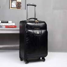 20''24'' Spinner Pu bagages voyage valise, Sac de voyage rétro, Bagages à roulettes, Ca027(China (Mainland))