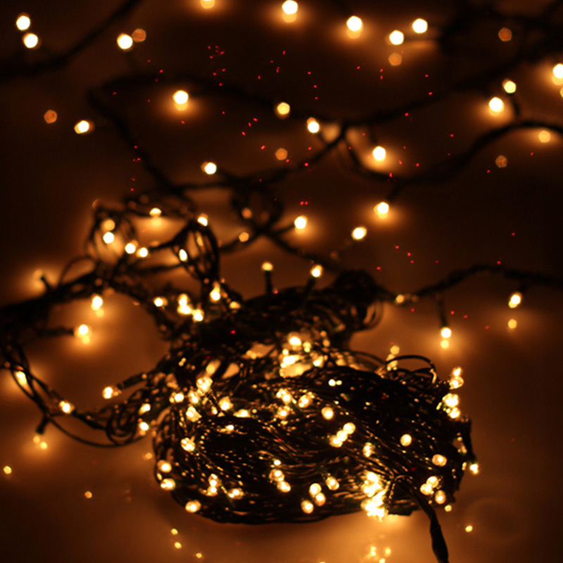 Unusual Christmas String Lights : Unique Multi color 100 Incandescent String Fairy Lights for Xmas Party Wedding #74354-in ...