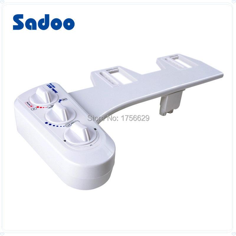 Гаджет  Multi-function Non-electric bidet washer toilet seat cold and hot water sprayer bathroom None Строительство и Недвижимость