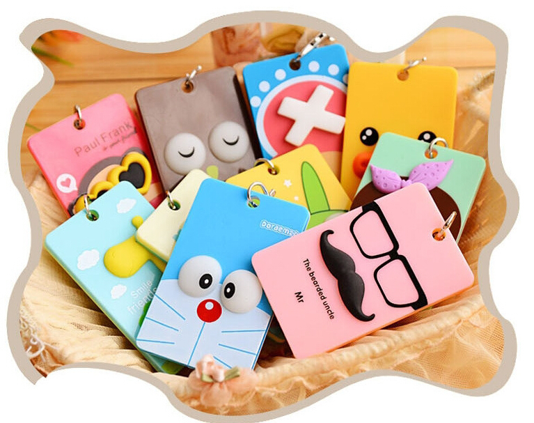 2015 New Arrival Top Credit Card Pvc Wallet Cover for Passports Bag sided Bus Card Taoka Sets Cartoon Clip Bit(China (Mainland))