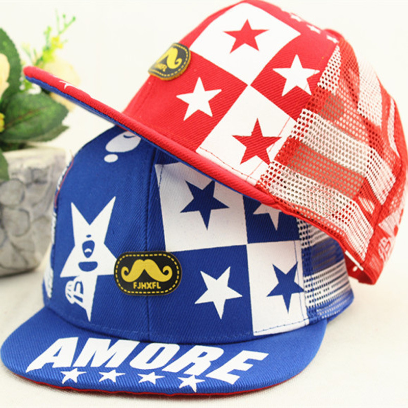 2015 New Arrival Top Fashion Unisex Active Free Baseball Caps Hats Children Cap Hip Hop Star Baseball Summer Sun Hat For Peaked(China (Mainland))