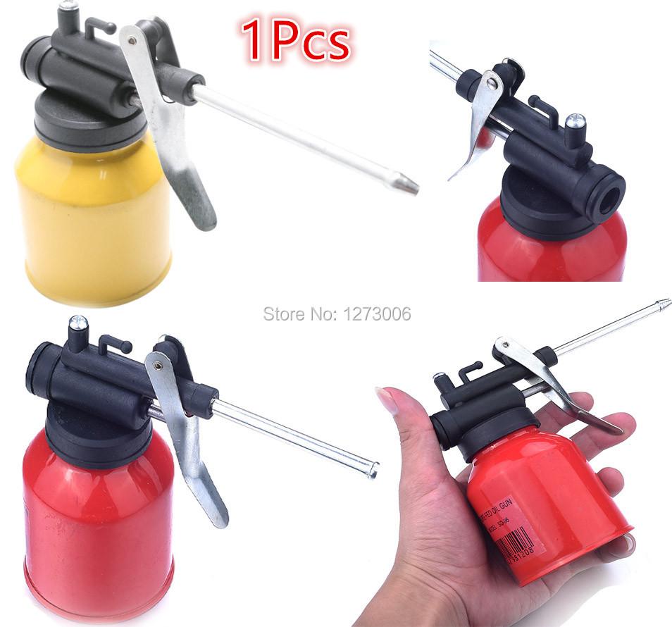 1Pcs 250ml Mini High Pressure Pump Oiler 120mm Plastic Machine Oiler Grease Fed Oil Gun Car Motocycle(China (Mainland))
