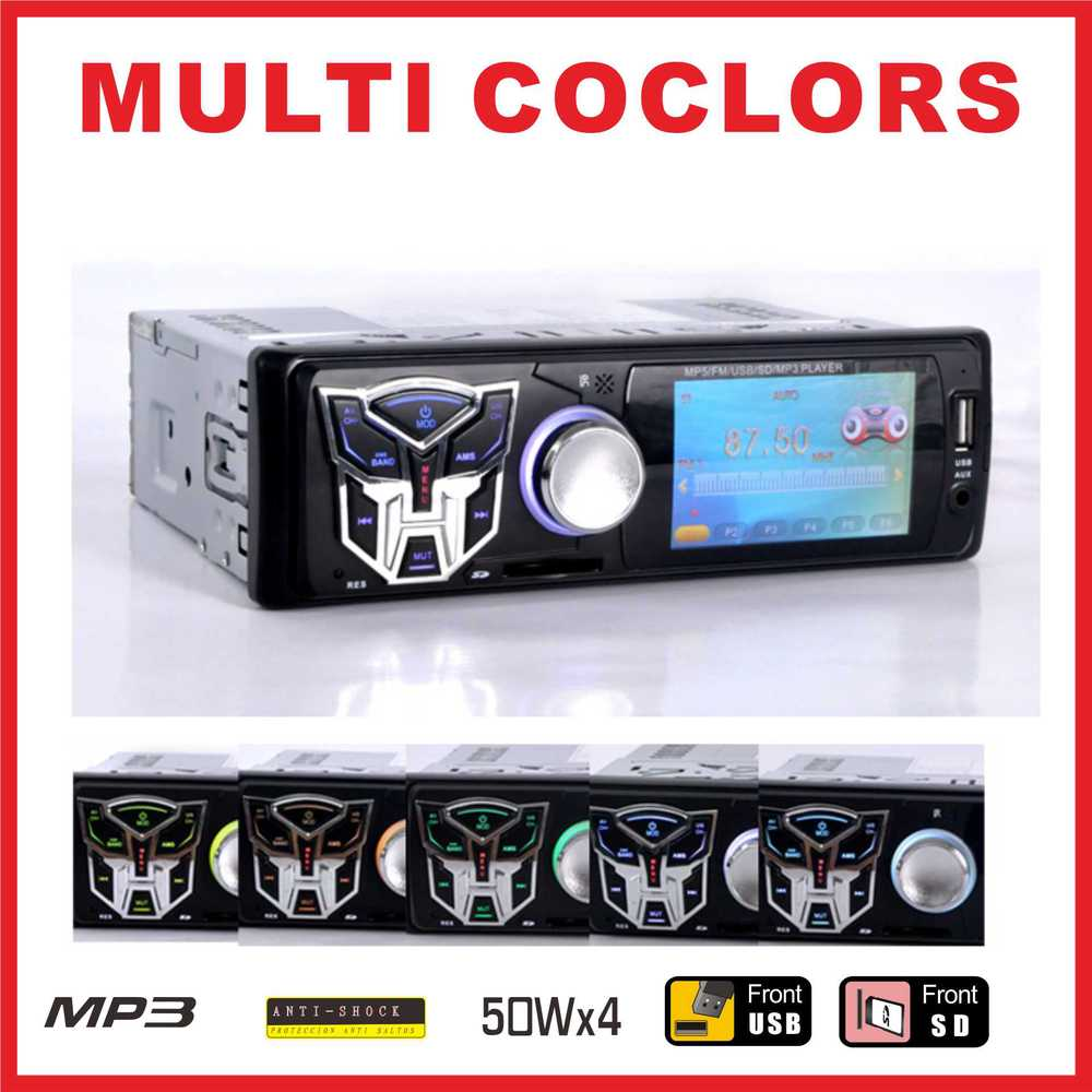 "Фотография In-Dash 3"" TFT HD Digital Car Stereo FM Radios MP3 MP4 MP5 Audio Video Multimedia Players with USB/SD MMC Port Car Electronics"