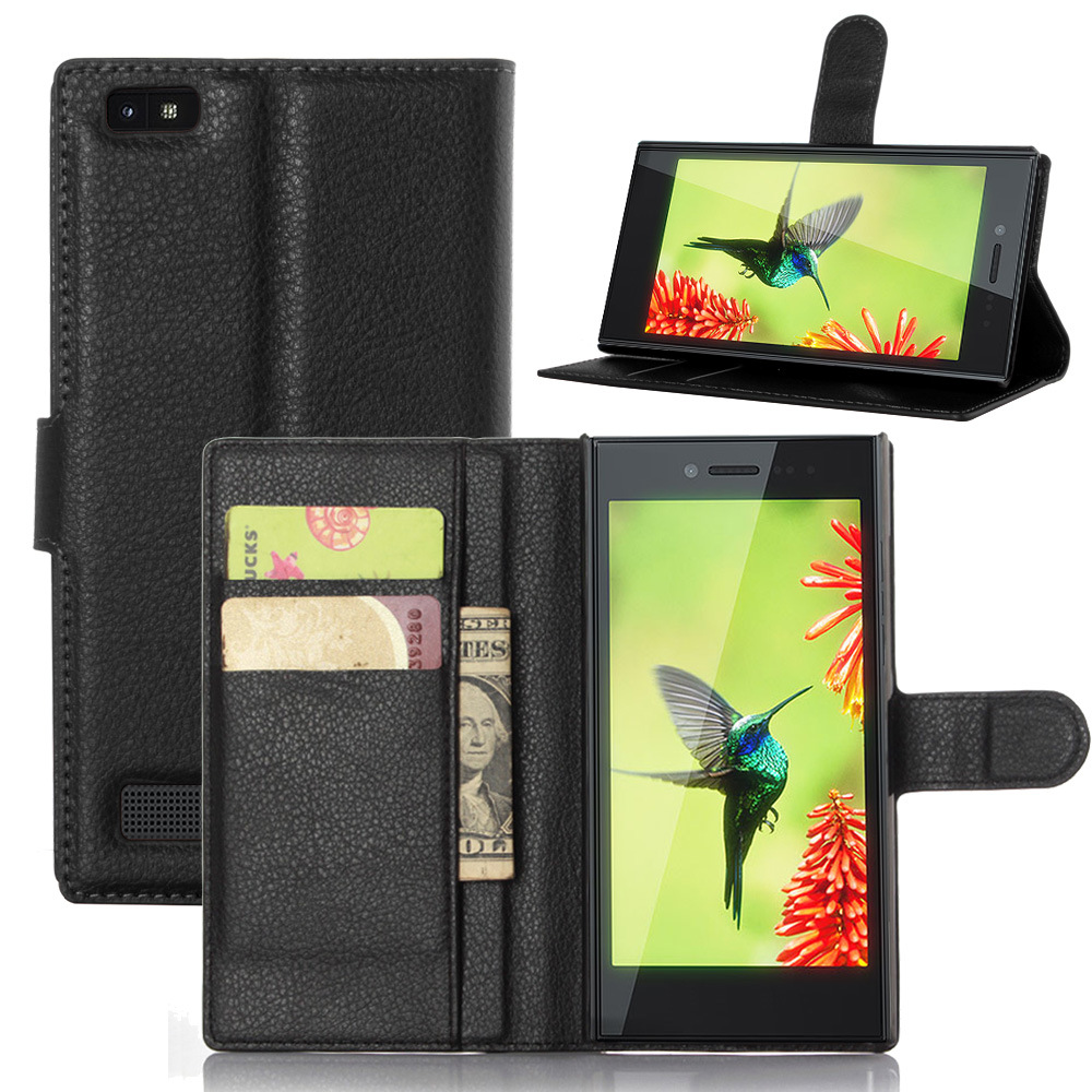 Luxury Wallet PU Leather Case Cover for Blackberry Leap case cover Phone Shell Back Cover With Card Holder Stand Gift(China (Mainland))