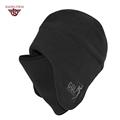 100% Brand New High Quality Winter Knit Warm Hats For Men Adult Leisure Brim Caps Outdoor Sport Plus Velvet Hat 3 Colors  A046