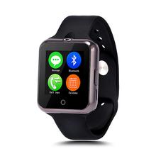 D3 носимых SIM карты bluetooth-смарт часы электронные часы телефон великолепная шатер лампы SmartWatch для Apple , Android смартфон