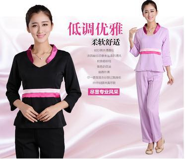 2015 Fashionable female medical uniform hospital medical scrub clothes beautician beauty salon Slim Dental Clinic nurse uniforms(China (Mainland))