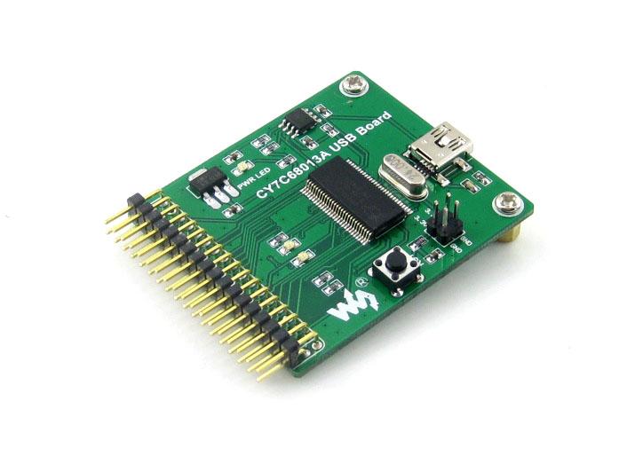 Free shipping 5PCS CY7C68013A USB module communication module development board embedded 8051 microcontroller mini type(China (Mainland))