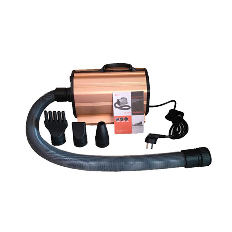 Pet Water Blowing Machine Dedicated Dog Hair Dryer UK Plug 2400W High Power 2.03m Super General Hose Low Noisepet Dryer Brown
