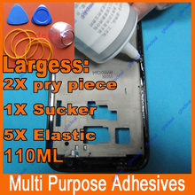 110ML Multipurpose adhesive B7000 DIY Tool cellphone samsung iPhone LCD Touch Screen middle Frame housing Glue(China (Mainland))