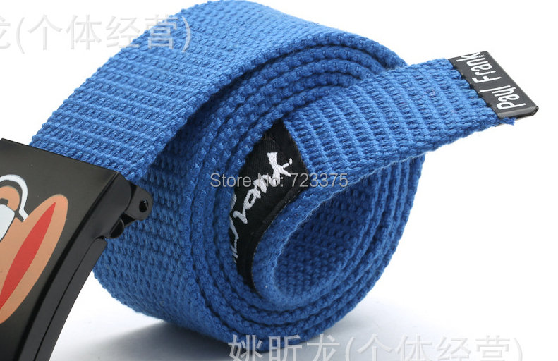 Мужской ремень Canvas belt  No мужской ремень cinto couro marca