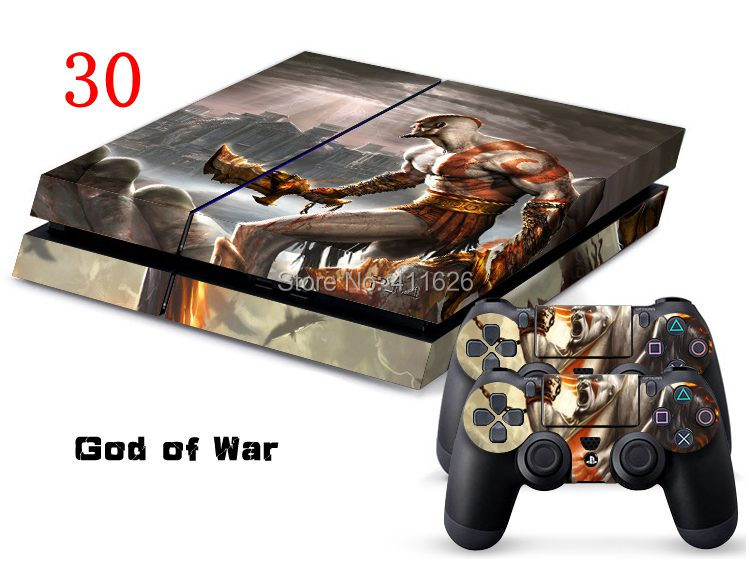 God of War Decal Sticker  for PS4 Wireless Controller  10PCS/LOT