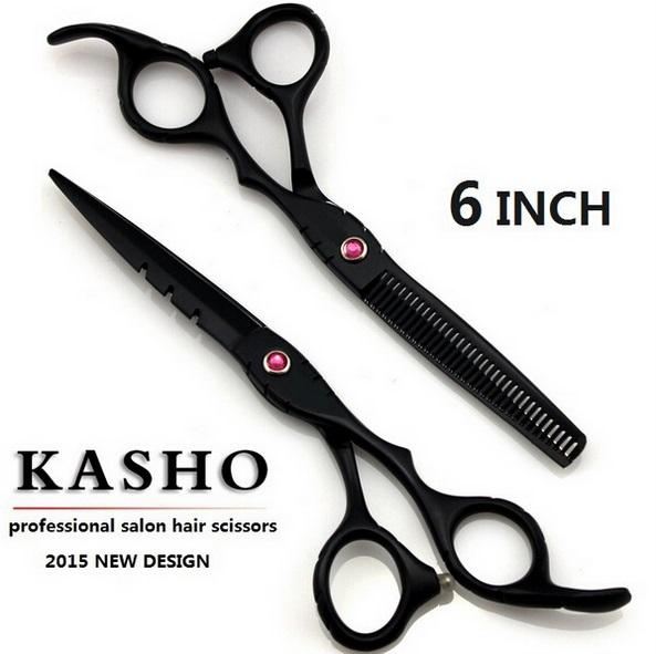 Kasho professional hair scissors high quality tijeras peluquero tesoura tijeras peluqueria professional hair cutting shears(China (Mainland))