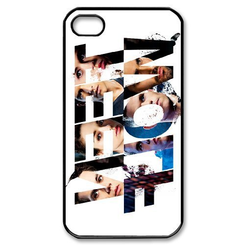 2015 sell Teen Wolf Background pattern Iphone 4S 5S 5C PC Material Mobile phone protective shell cases